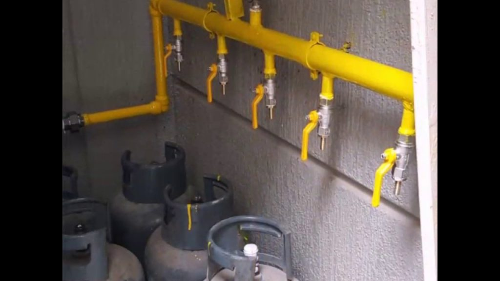 تمديد الغاز من المستضيف العربى - ابو ظبى