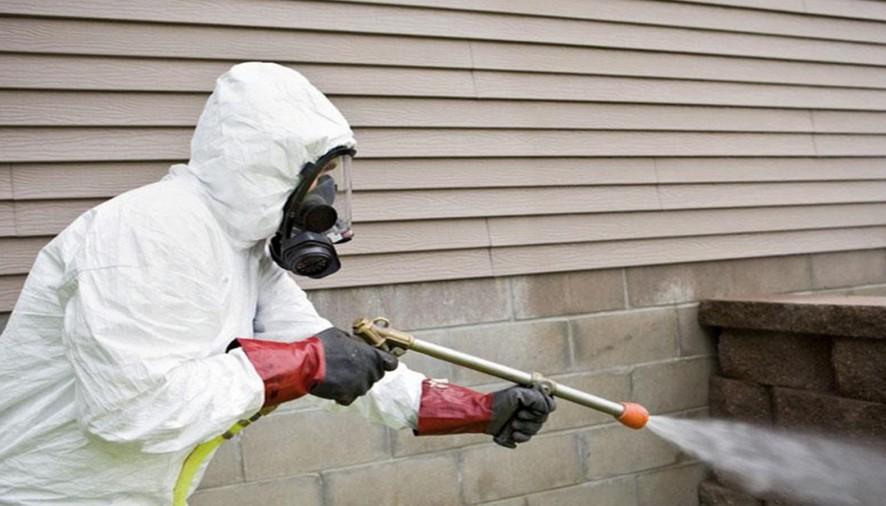 خدمة الرش بالمبيدات من المستضيف العربى