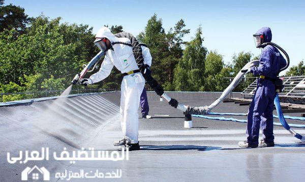 عزل الأسطح في الرياض