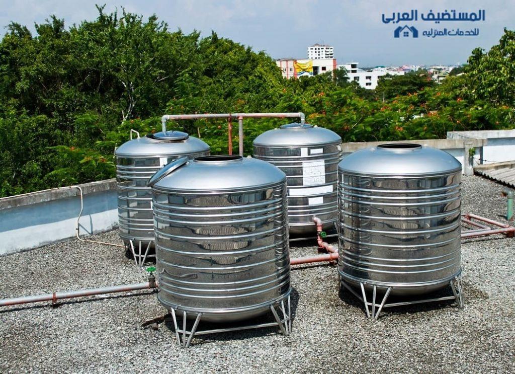 عزل خزانات الماء بالرياض
