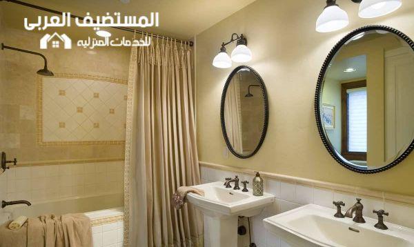 عزل حمامات المنازل